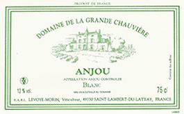 Etiquette Anjou Blanc