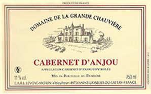 Etiquette Cabernet d'Anjou