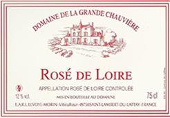 Etiquette Rose de Loire